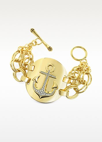 Double Chain Anchor Bracelet - Juicy Couture