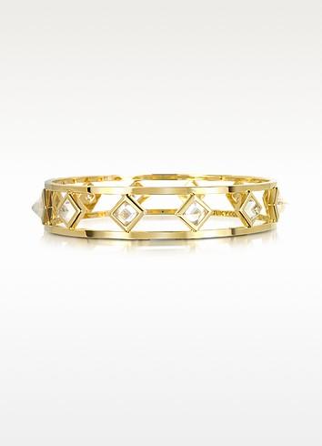 Crystal Pyramid Bangle - Juicy Couture