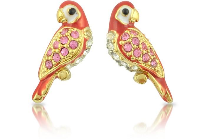 Parrot Stud Earrings - Juicy Couture