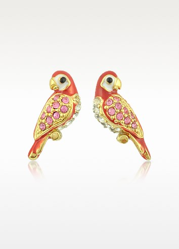 Parrot Stud Earrings - Juicy Couture