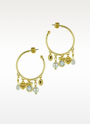 Charmy Hoop Earrings - Juicy Couture