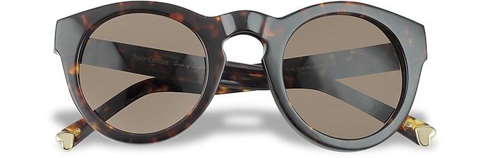 Era - Round Tortoiseshell Sunglasses - Juicy Couture