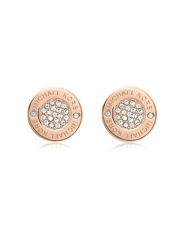 Michael Kors - Heritage Pave Stud Earrings