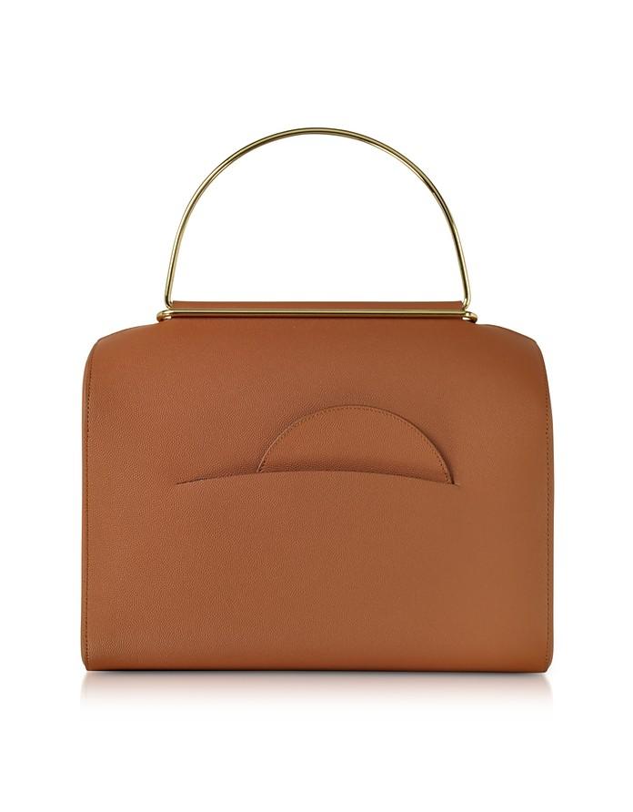 Tobacco Leather Bag NO. 1  - Roksanda