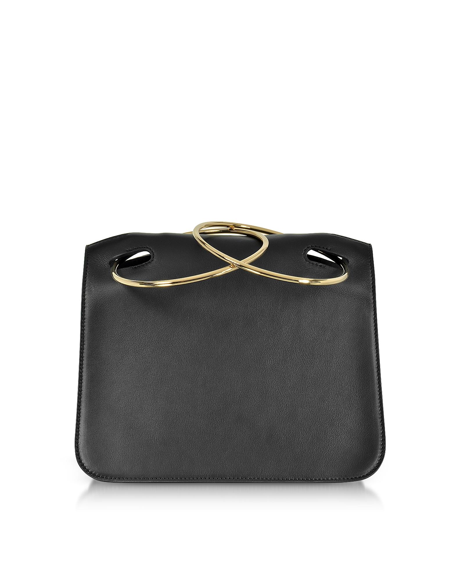 Roksanda Handbags, Black Leather Neneh Bag