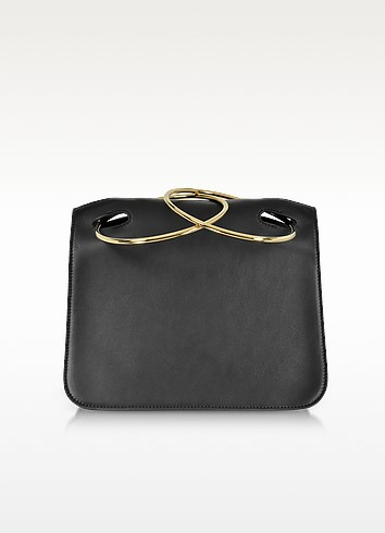 Black Leather Neneh Bag - Roksanda