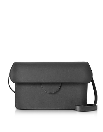 Roksanda - Efimia Black and Navy Leather Shoulder Bag