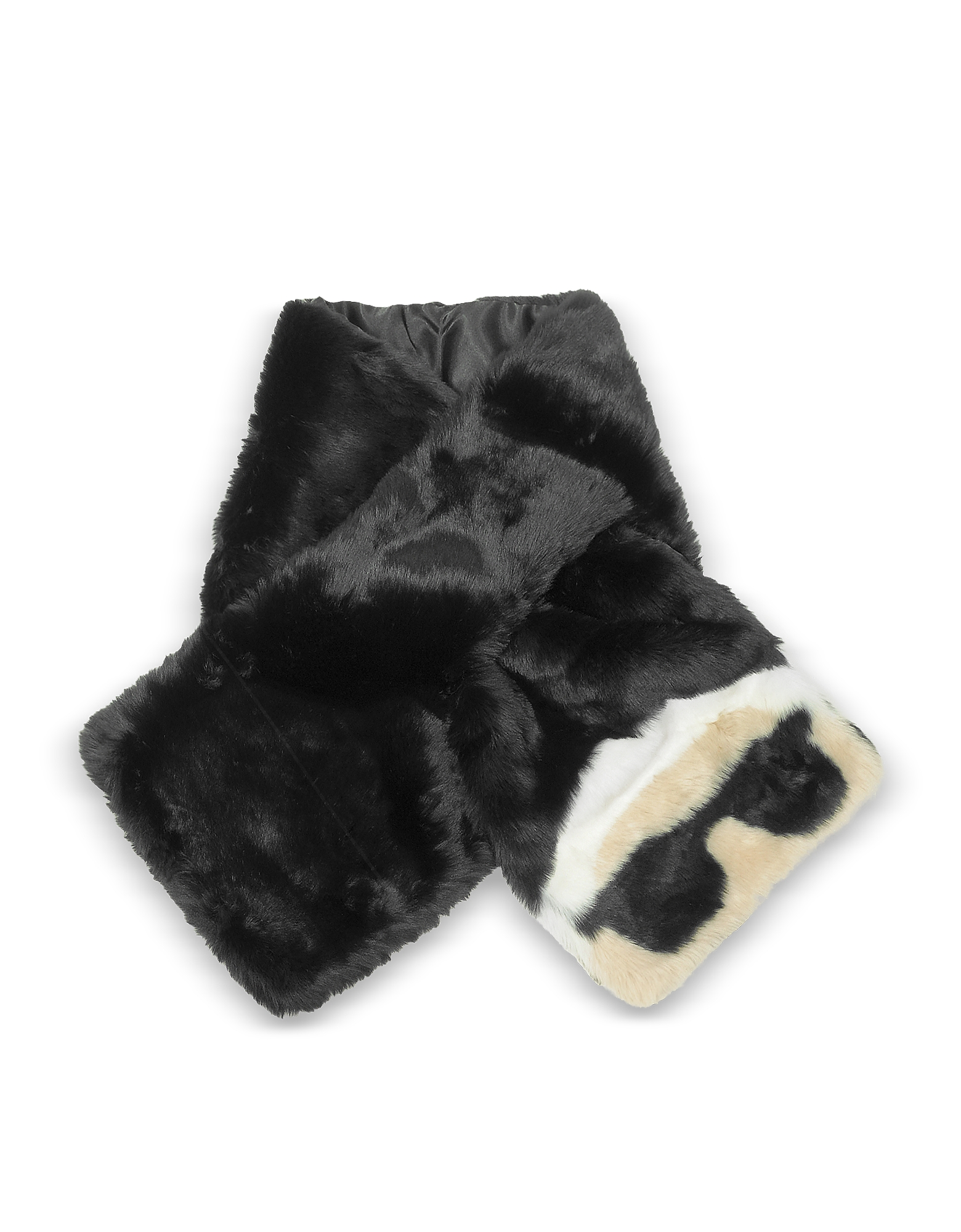 Karl Lagerfeld Long Scarves, K/Ikonik Faux Fur Long Scarf