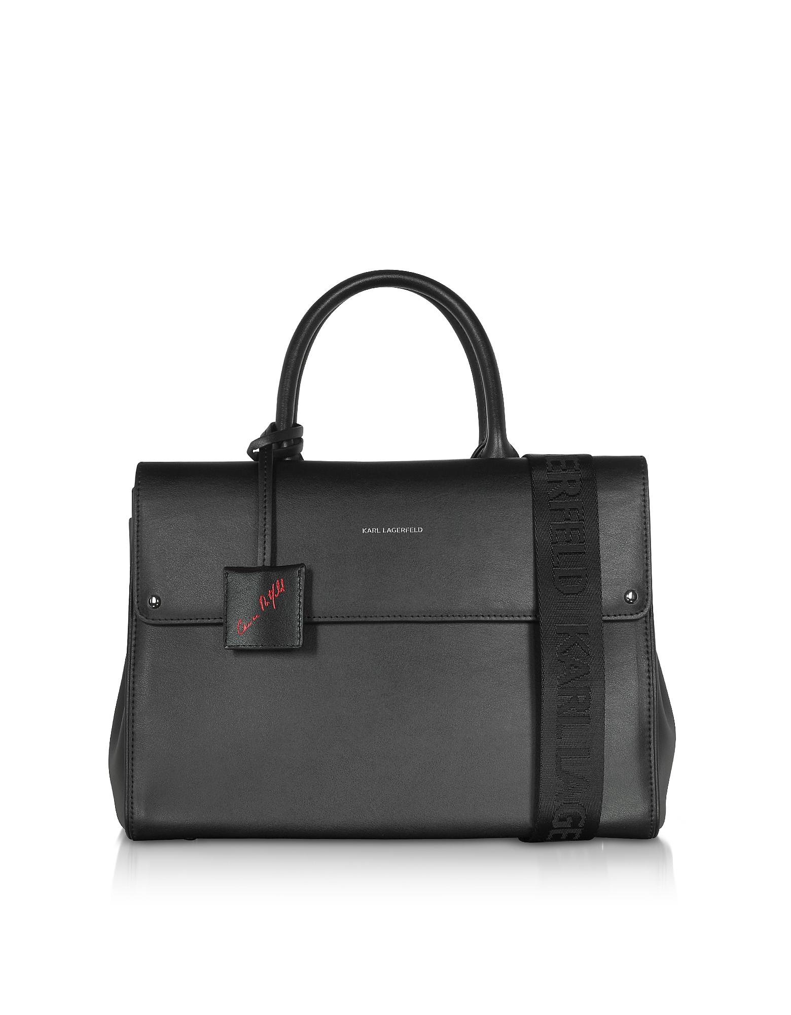 Karl Lagerfeld Designer Handbags, Carine X Karl Ikon Tote