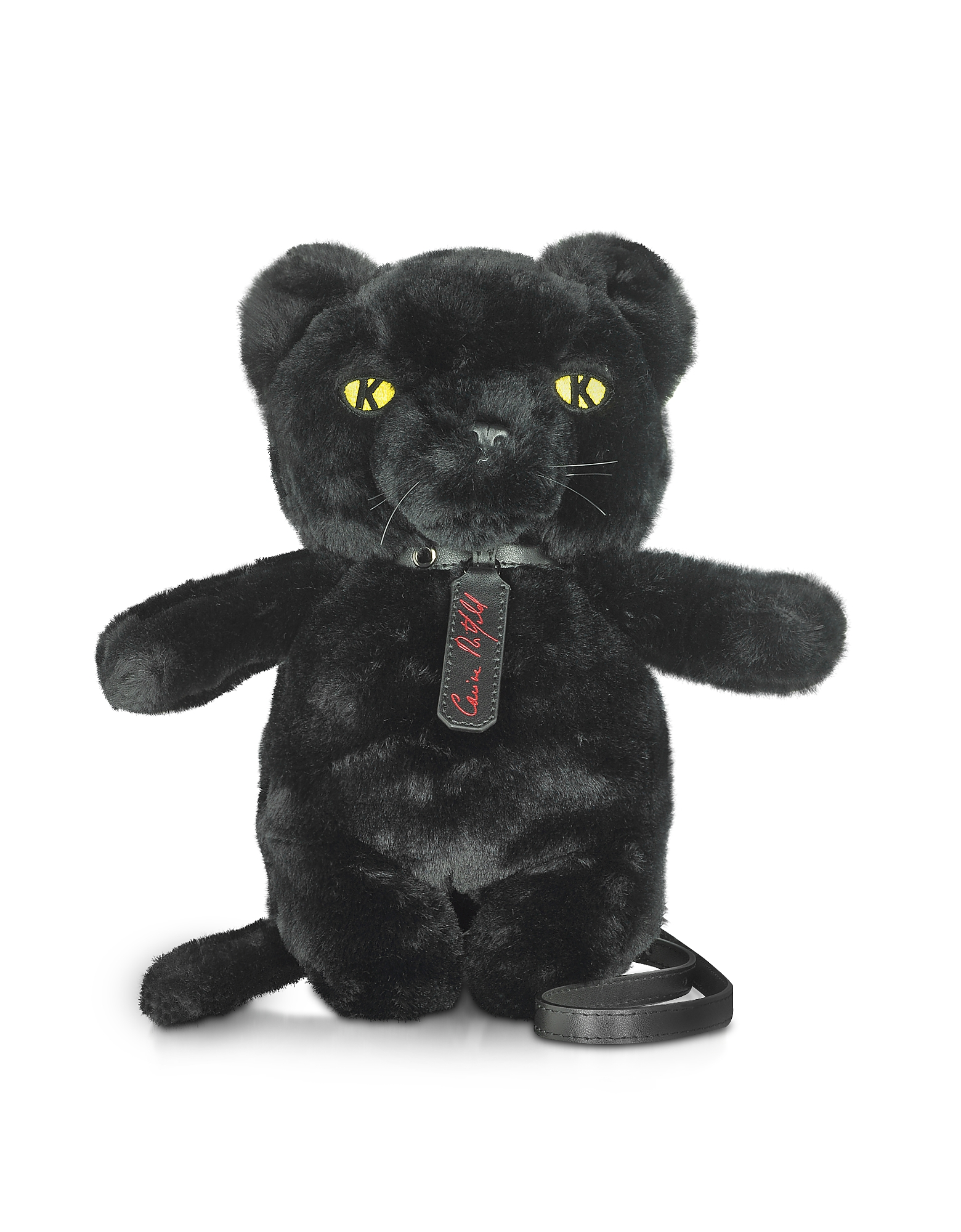Carine X Karl Black Panther Crossbody Bag