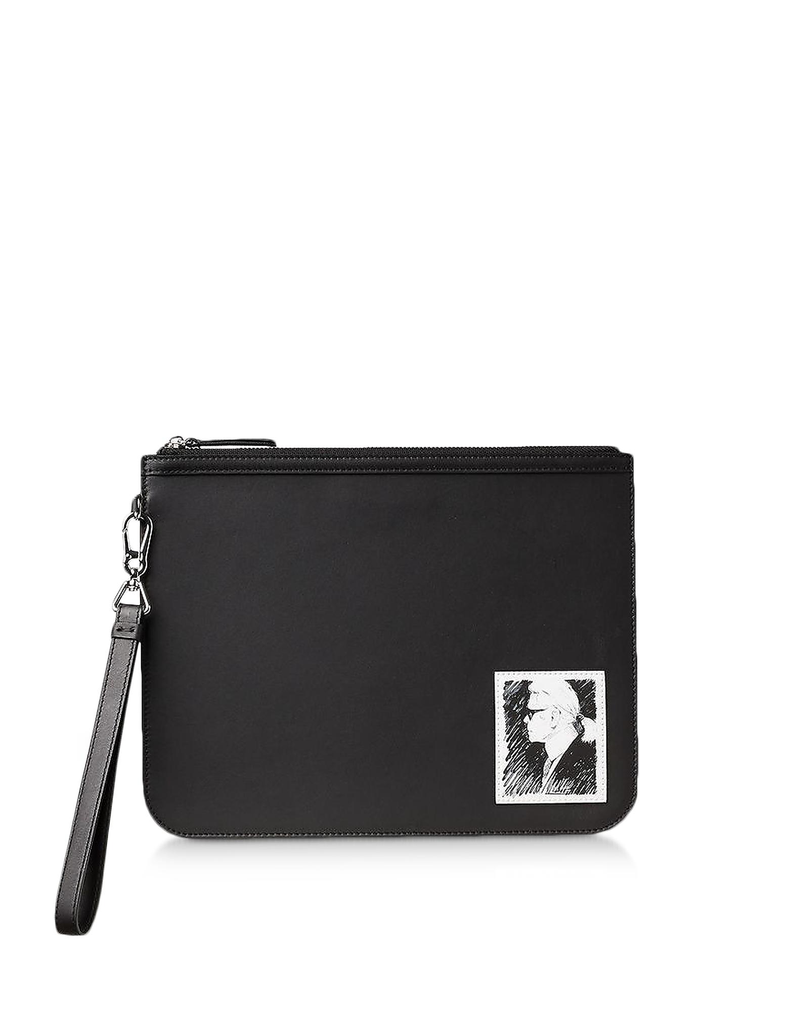 Karl Lagerfeld Designer Handbags, Karl Legend Elegance Clutch