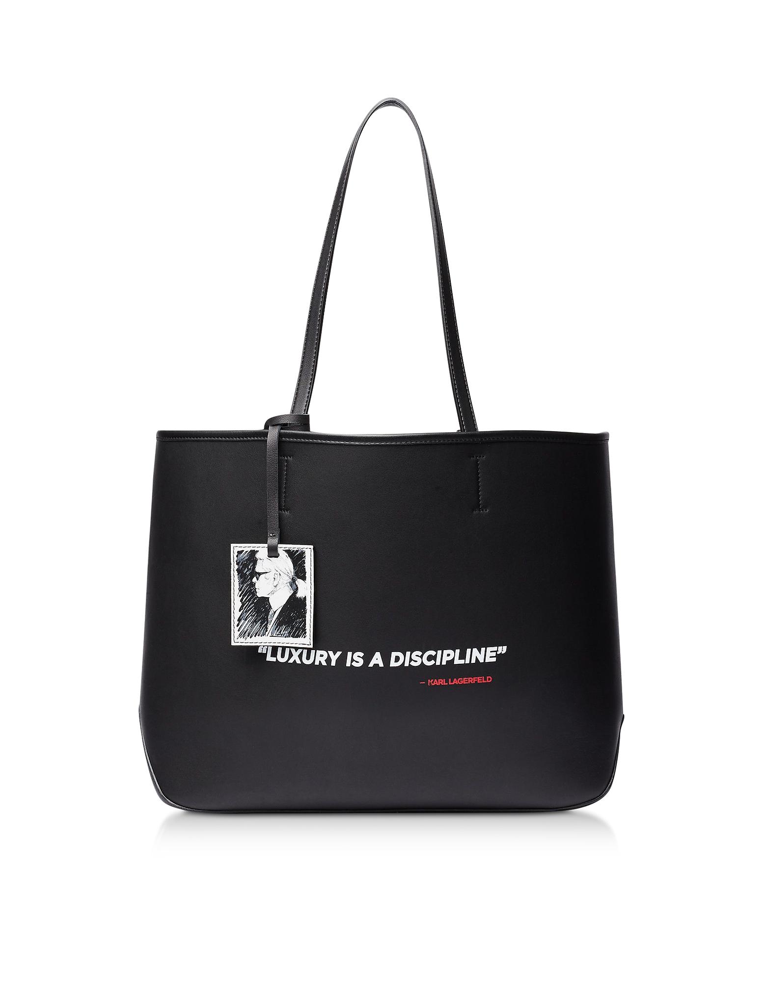 Karl Lagerfeld Designer Handbags, Karl Legend Tote