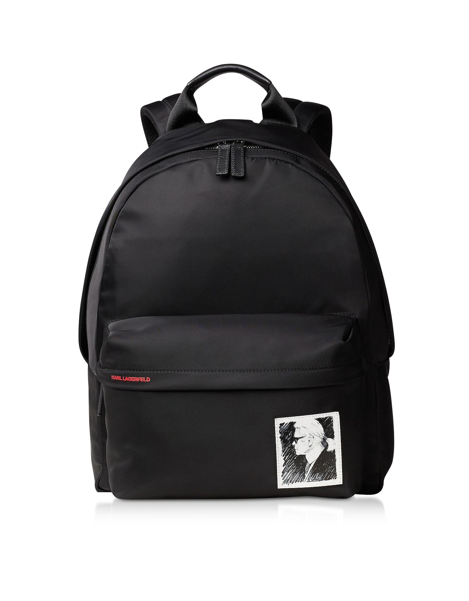 Karl Lagerfeld Designer Handbags, Karl Legend Nylon Backpack