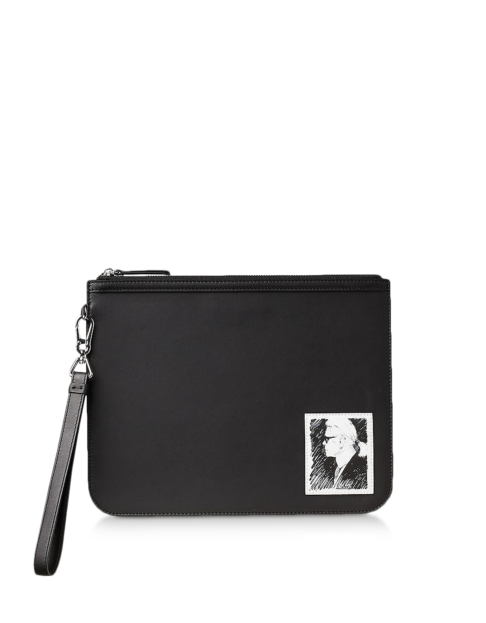 Karl Lagerfeld Designer Handbags, Karl Legend Luxury Clutch