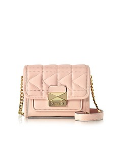 Light Pink K/Kuilted Crossbody Bag - Karl Lagerfeld