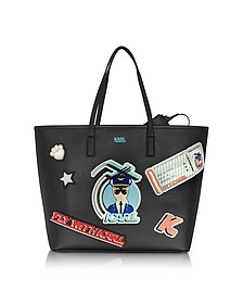 K/Jet Black Shopper - Karl Lagerfeld