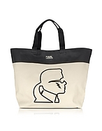 Karl Lagerfeld K/Canvas Thunder Shopper Color Block - karl lagerfeld - it.forzieri.com