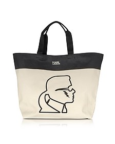K/Canvas Thunder Shopper - Karl Lagerfeld
