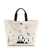 Karl Lagerfeld K/Canvas Music Shopper Bicolore - karl lagerfeld - it.forzieri.com