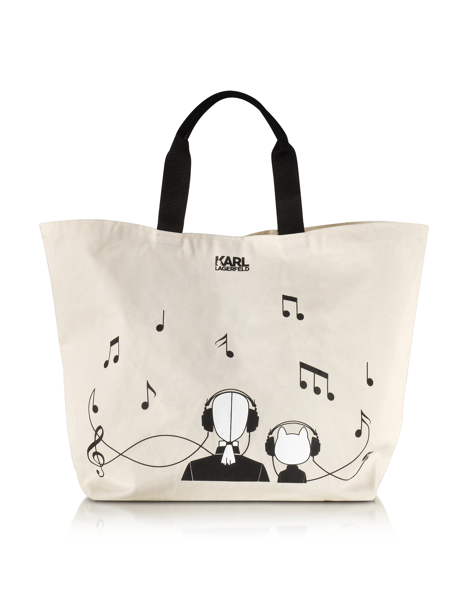 Karl Lagerfeld K/Canvas Music - Сумка с Музыкальными Нотами