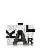 Karl Lagerfeld Karl Clutch Marmo con Logo - karl lagerfeld - it.forzieri.com