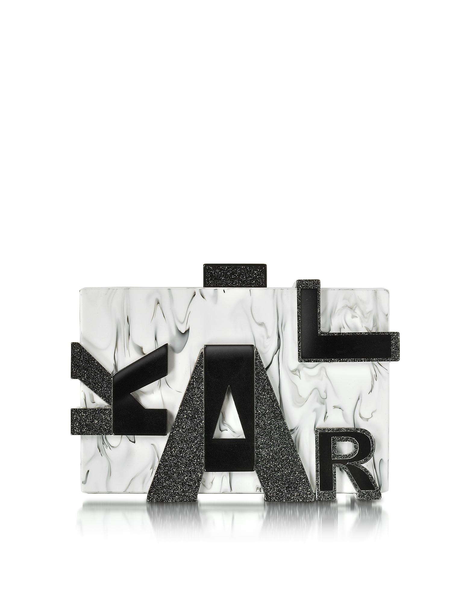 Karl Lagerfeld Клатч Karl Marble