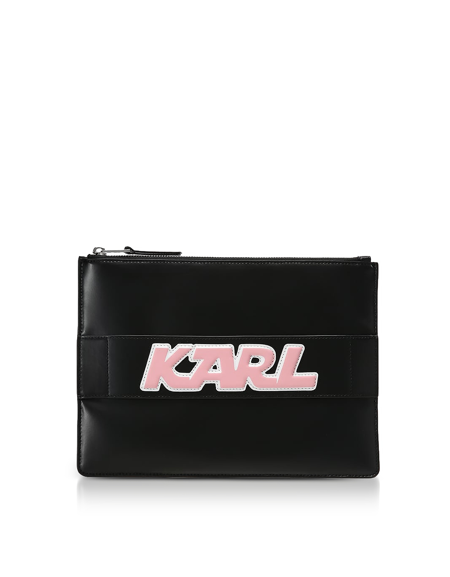 Black Leather K/Sporty Pouch