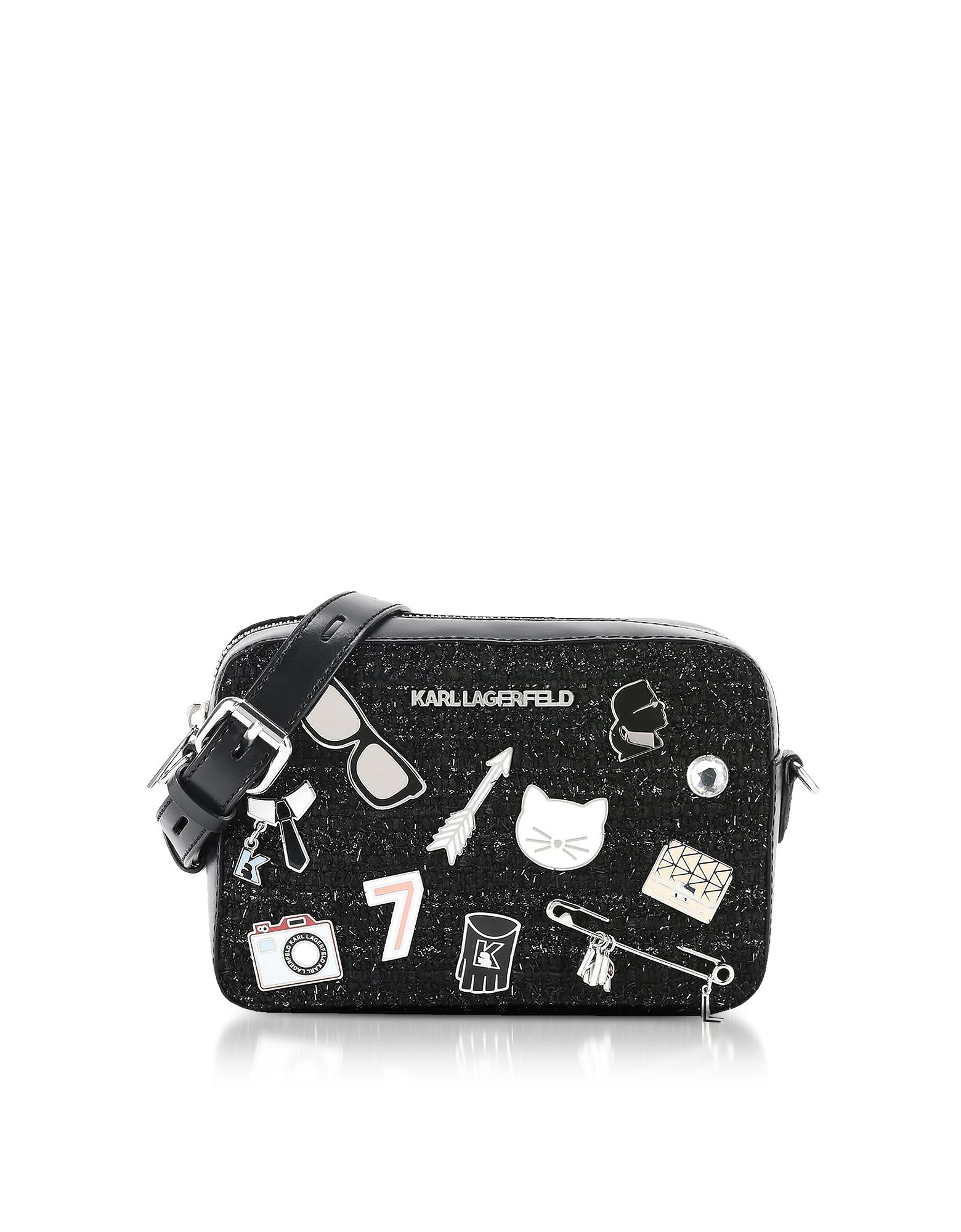Black K/Klassik Pins Camera Bag