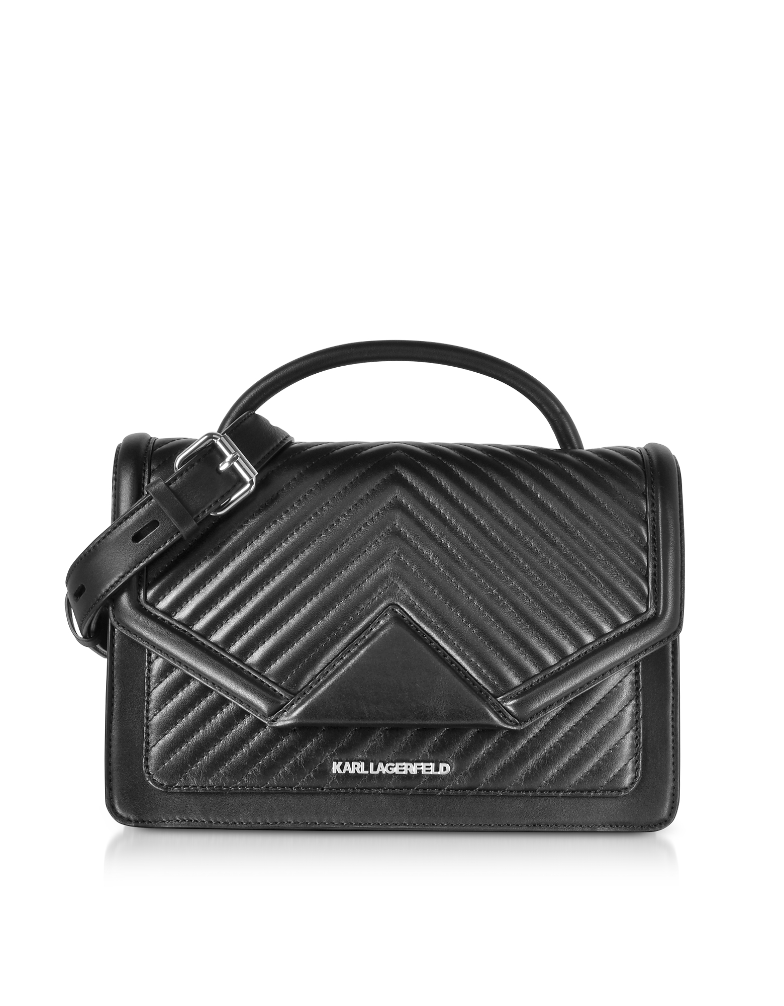 K/Klassic Quilted Leather Shoulder Bag