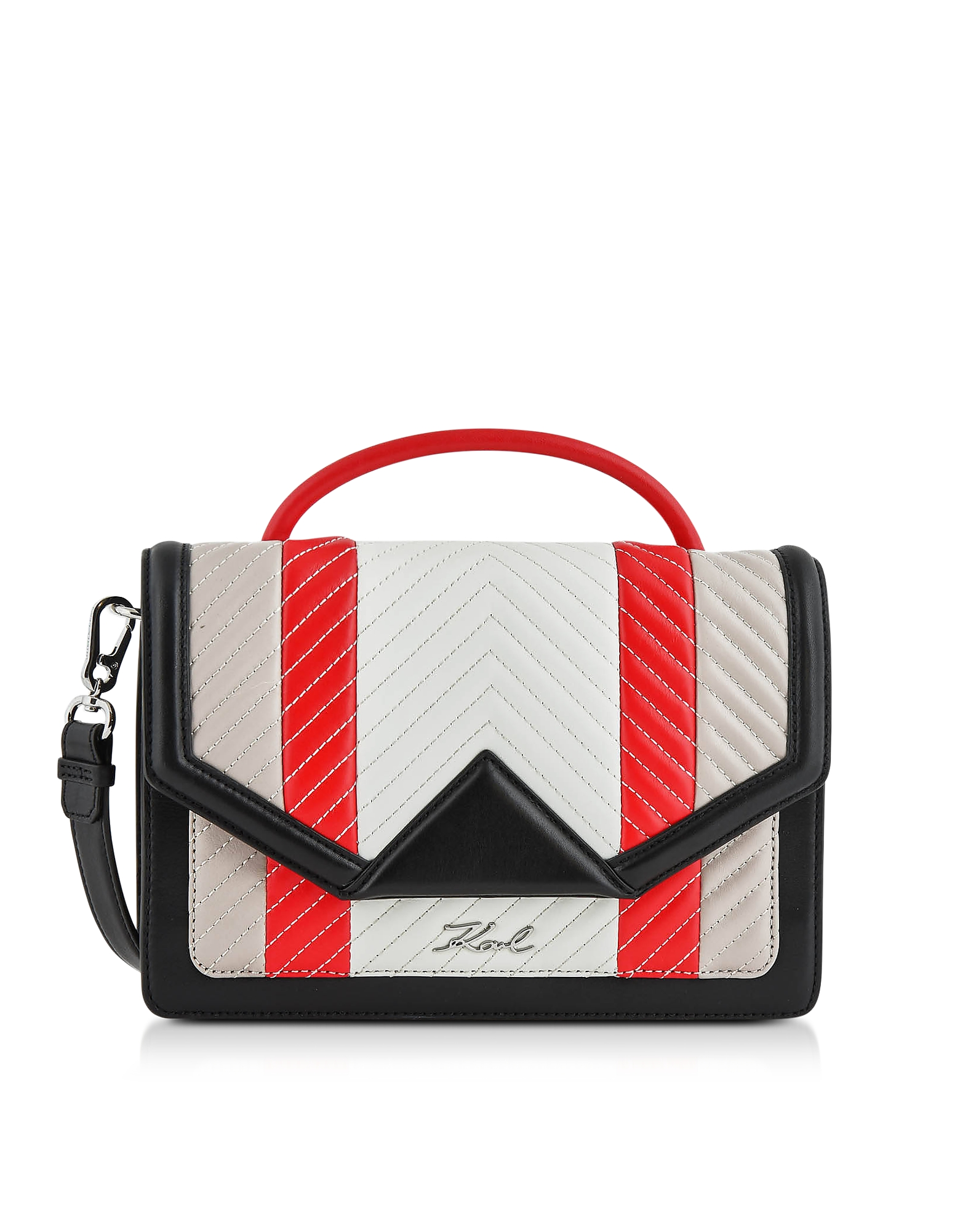 K/Klassic Multicolor Quilted Leather Shoulder Bag