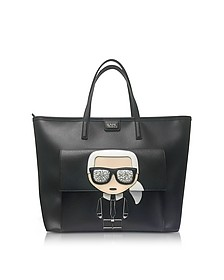 K/Ikonik Face Tote Bag - Karl Lagerfeld
