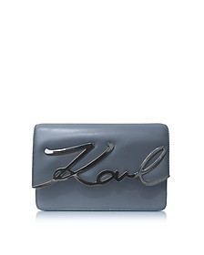 Thunder Leather K/Signature Shoulder Bag - Karl Lagerfeld