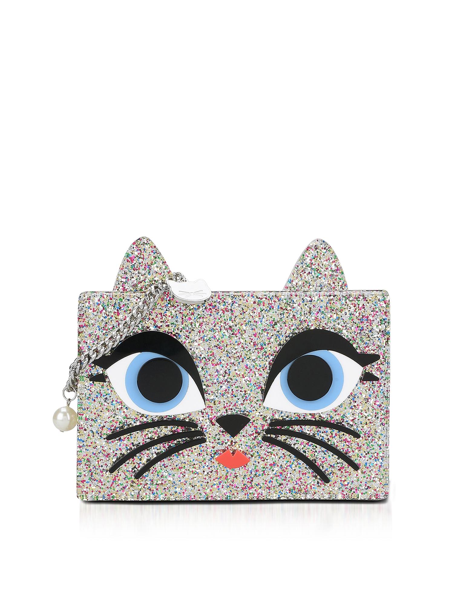 Karl Lagerfeld Handbags, Choupette Box Clutch