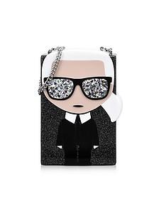 K/Ikonik Karl Box Clutch - Karl Lagerfeld
