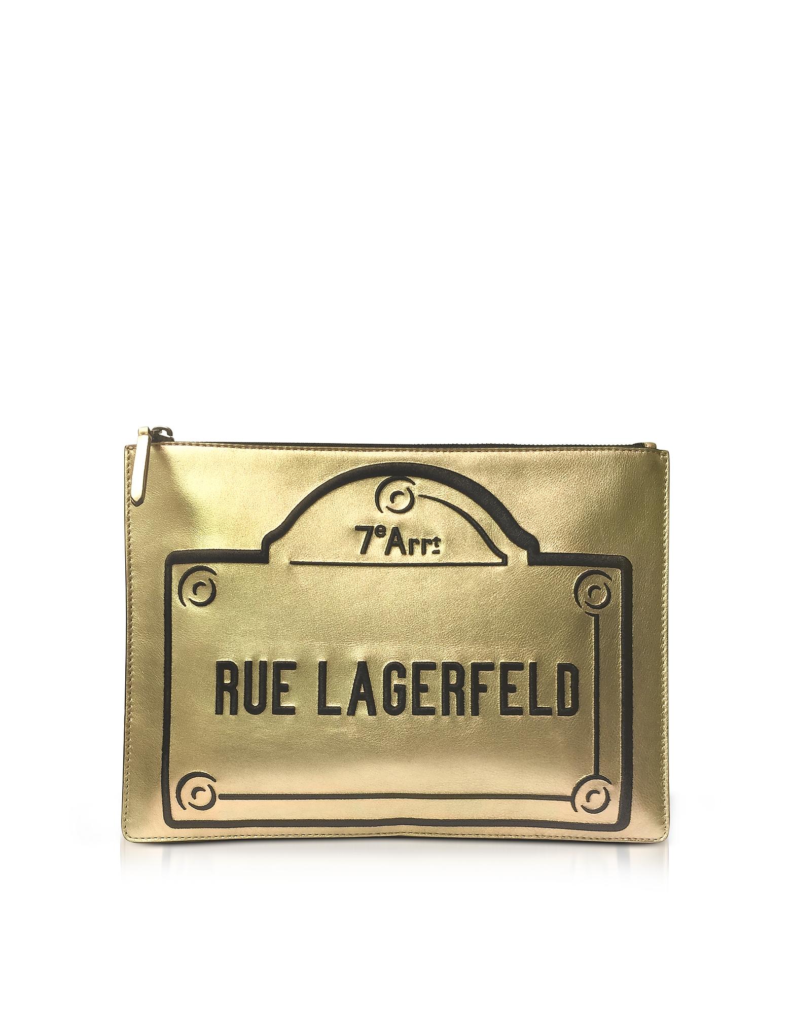 Rue Lagerfeld - Сумочка на Молнии