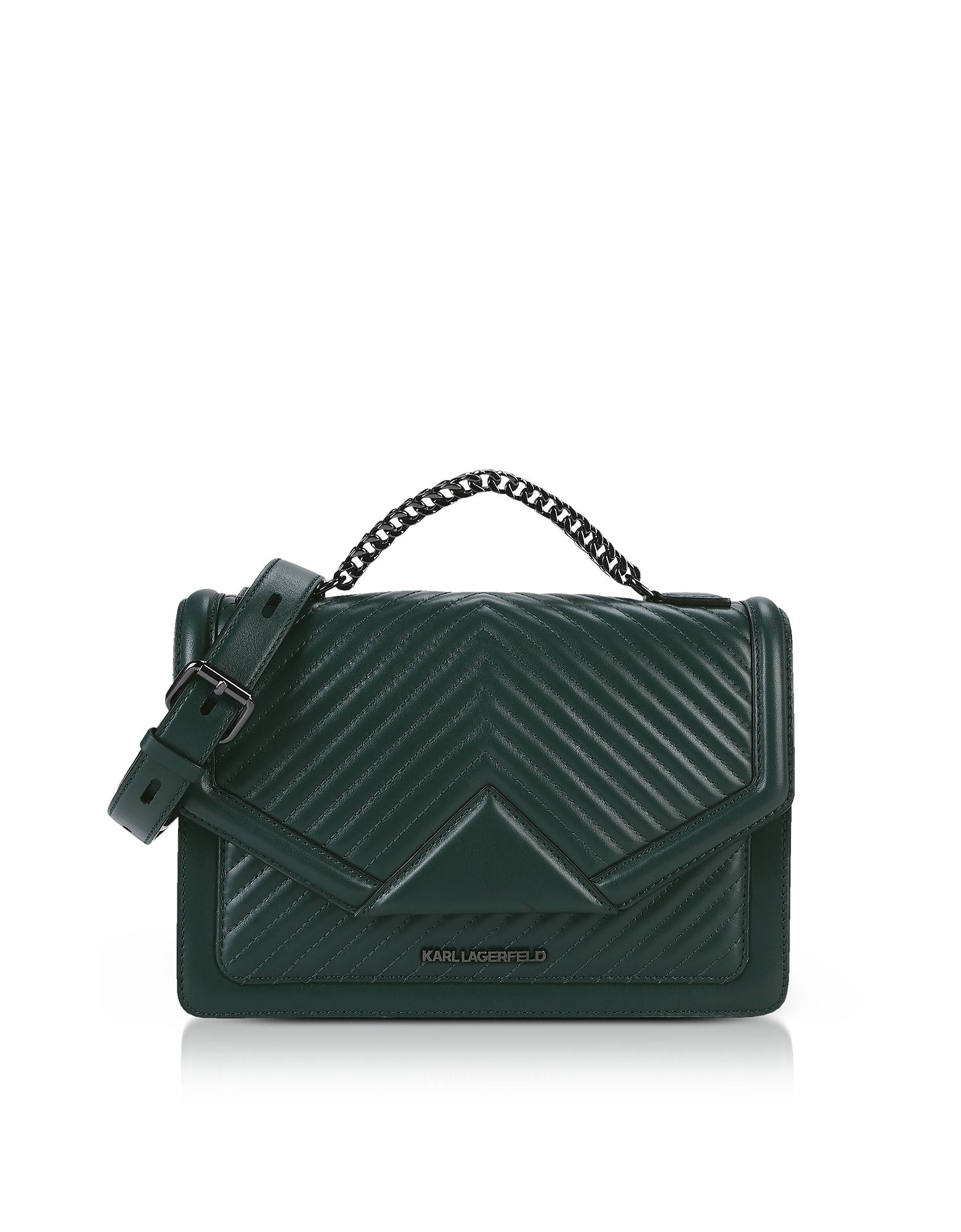 Karl Lagerfeld Handbags, K/Klassik Quilted Shoulder Bag