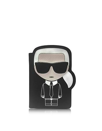 Karl Lagerfeld - K/Ikonik Passport Holder