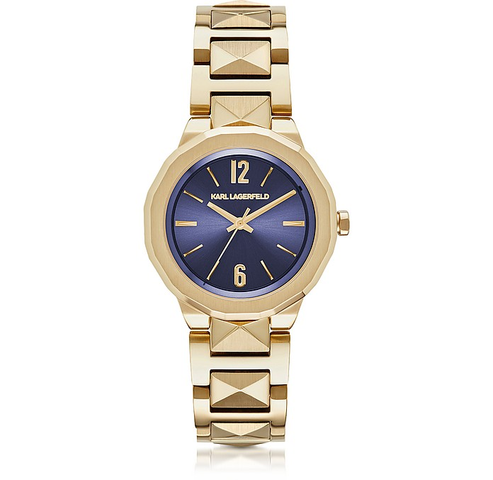 Joleigh Gold-tone Stainless Steel Women's Watch  - Karl Lagerfeld