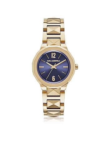 Karl Lagerfeld - Joleigh Gold-tone Stainless Steel Women's Watch
