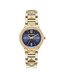 Joleigh Gold-tone Stainless Steel Women's Watch  - Karl Lagerfeld