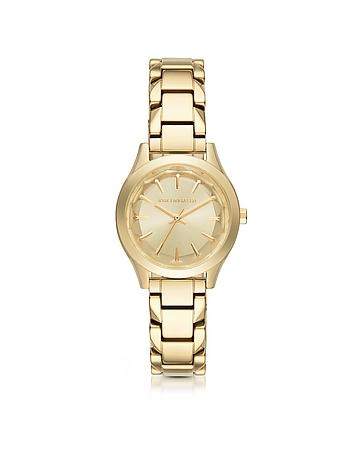 Forzieri FR Karl Lagerfeld Belleville Gold-tone PVD Stainless Steel Women's Quartz Watch