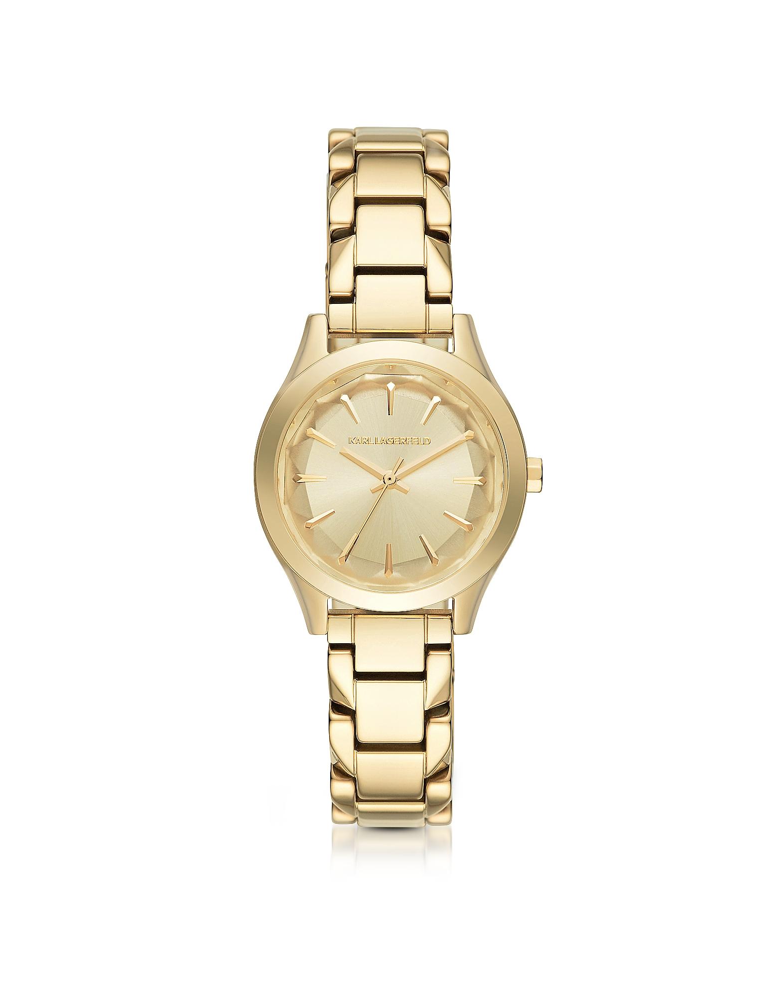 Karl Lagerfeld Women's Watches, Janelle Gold-tone PVD Stainless Steel Women's Quartz Watch