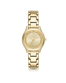 Janelle Gold-tone PVD Stainless Steel Women's Quartz Watch - Karl Lagerfeld