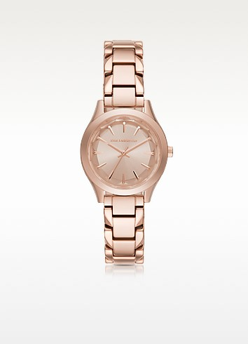 Janelle Rose Gold-tone PVD Stainless Steel Women's Quartz Watch - Karl Lagerfeld