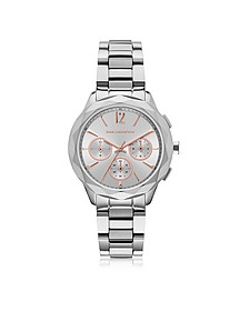 Optik Stainless Steel Women's Chronograph Watch - Karl Lagerfeld
