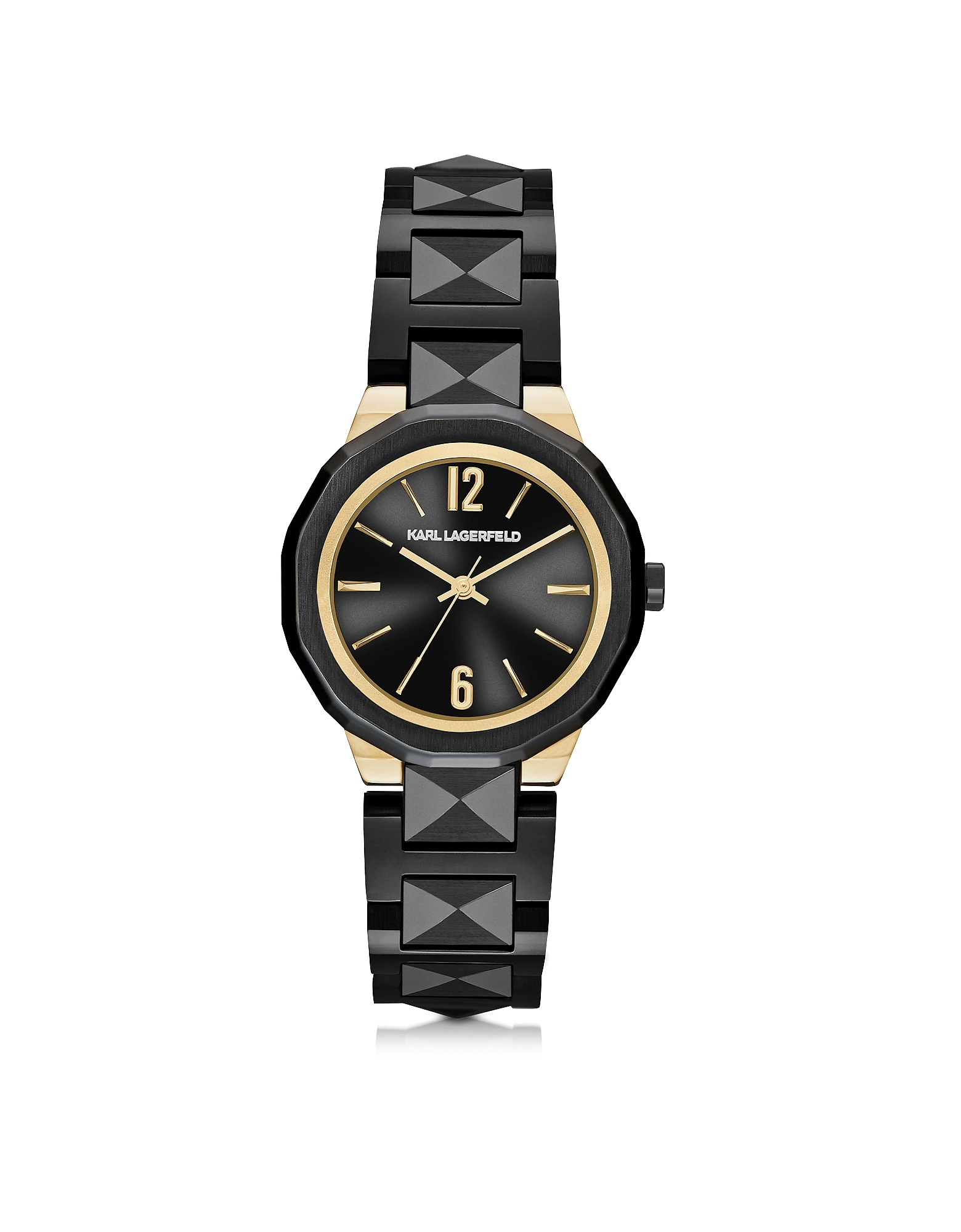 Karl Lagerfeld Women's Watches, Joleigh Black Iconic Women's Watch