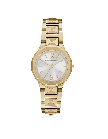 Karl Lagerfeld - Joleigh Goldtone Iconic Women's Watch