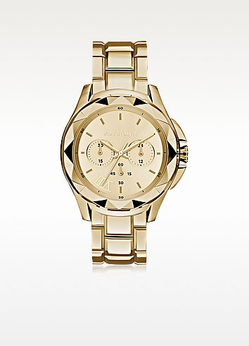 Karl 7 Iconic Unisex Golden Chronograph Watch - Karl Lagerfeld