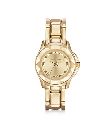 Karl Lagerfeld - Karl 7 36 mm Gold IP Stainless Steel Unisex Watch