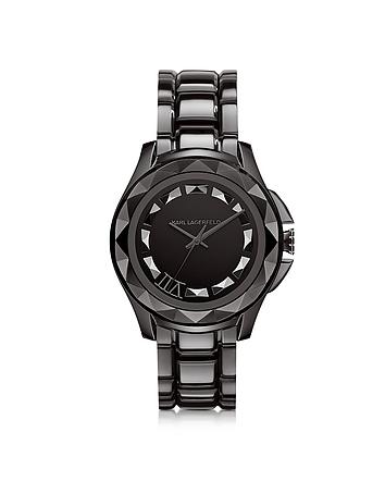 Karl Lagerfeld - Karl 7 43.5 mm Gunmetal IP Stainless Steel Unisex Watch